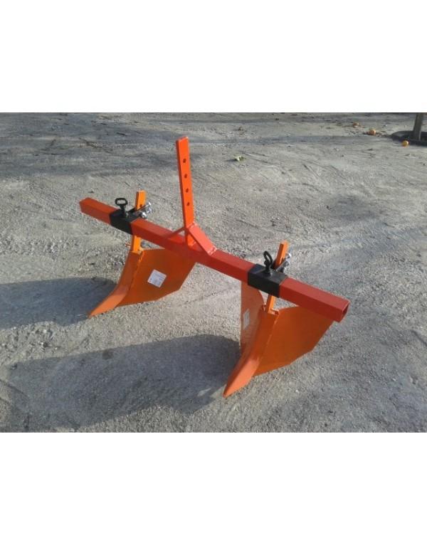 Surcador doble motocultor