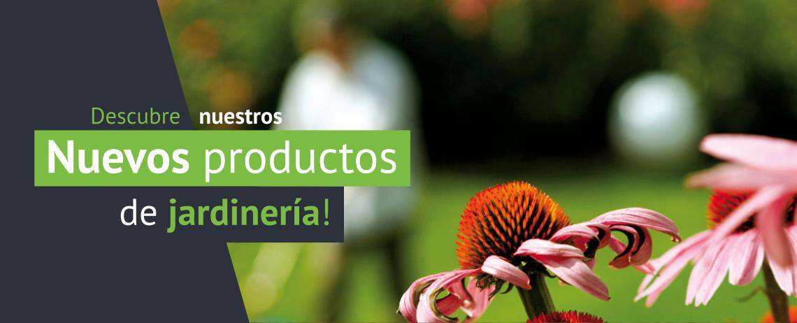 Nuevos productos de jardinería